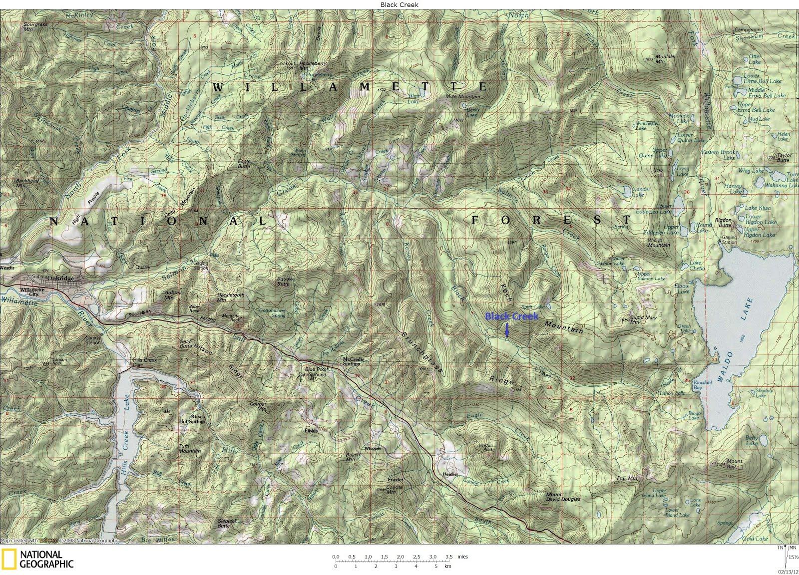 Wheels  Water Black Creek OR 21212