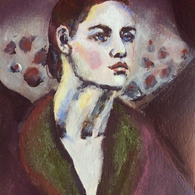 Georgia O'Keefe Painting Galia Alena