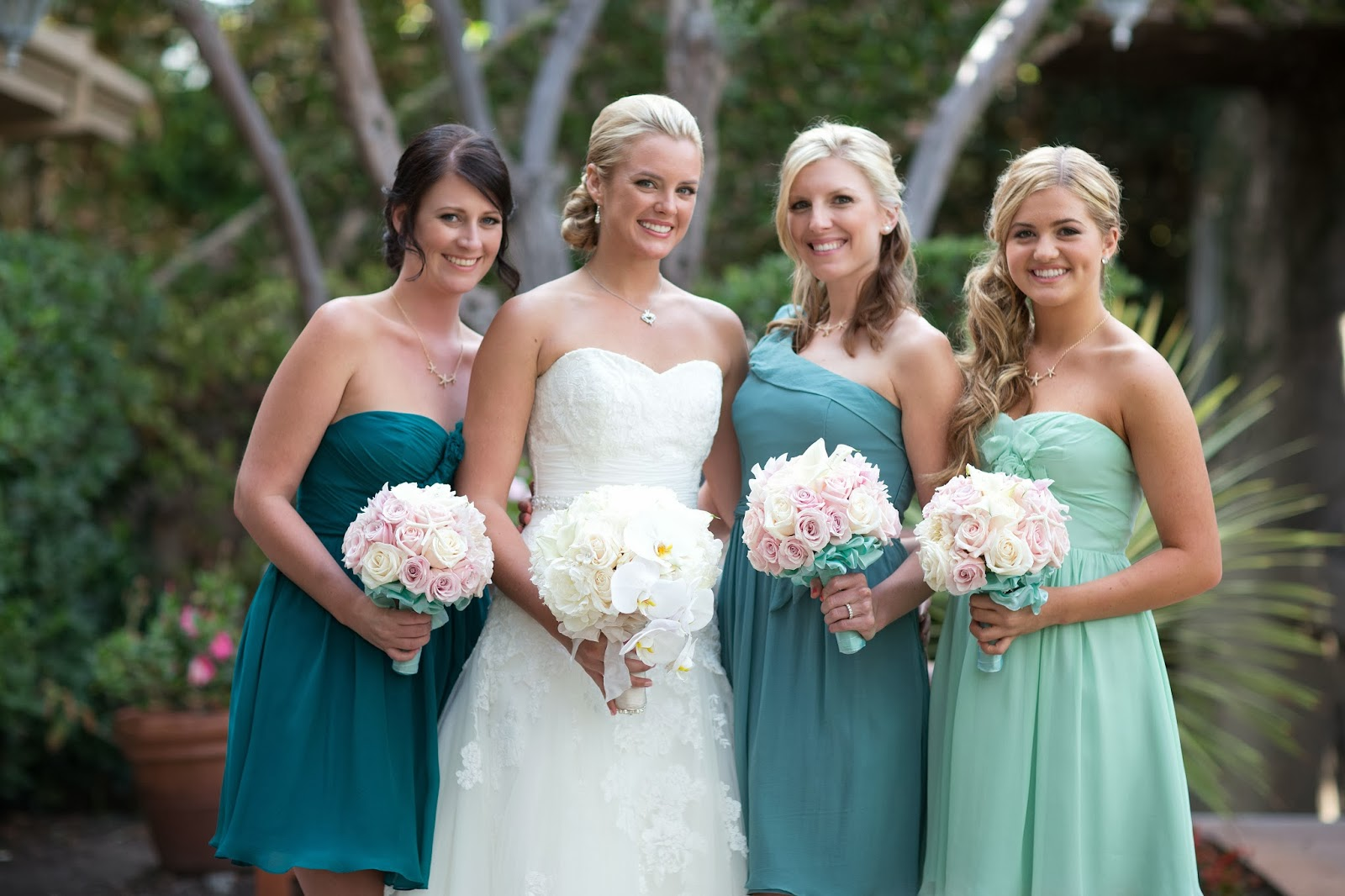Our bella bridesmaids bella bridesmaids bella bridesmaid orange county bride ashley designer ivy aster styles coming up roses may flowers and paloma fabric matte chiffon ombrellifo Images