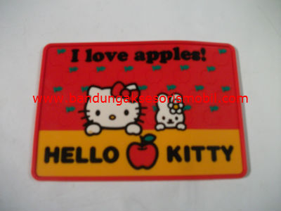 Dash Mat Hello Kitty Apel Kecil Red