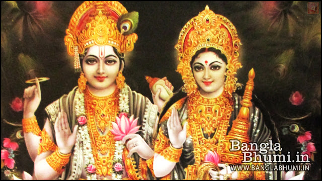 Maa Laxmi Shri Narayan Indian God 1366x768 Wide Wallpaper