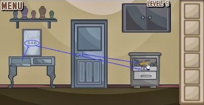 Brownish Escape Level 7 8 9 Cheats