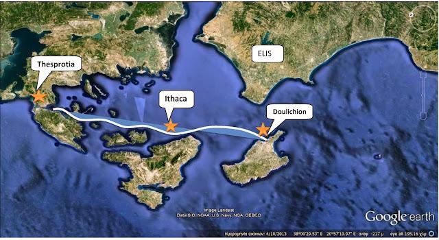 Echinae the holy islands, Homeric Doulichion, Meges' Kingdom,