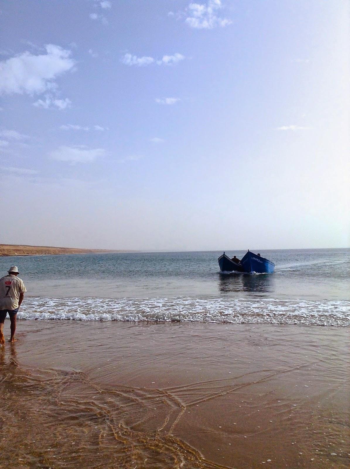 La pêche dans le domaine de Mourmansk de la place