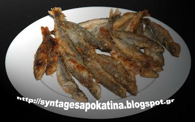 ψάρια τηγανητά http://syntagesapokatina.blogspot.gr