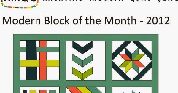 Quilty Habit January Block Cjmqg 2015 Bom