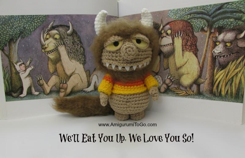 crochet maurice sendak doll