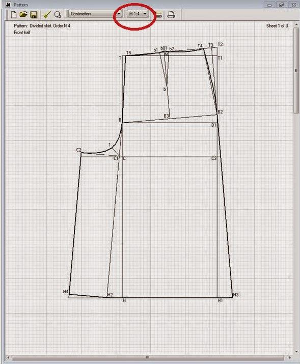 Patrón gratis: falda pantalón culotte para todas las tallas - yo ...