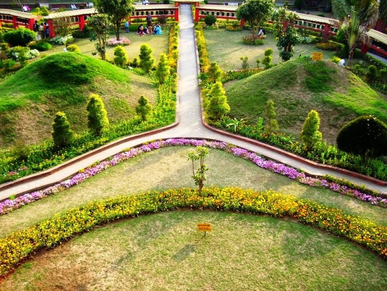 Desain Taman Vihara