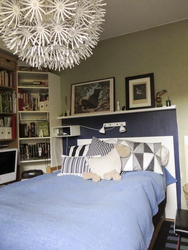 sovrum, väggmålning