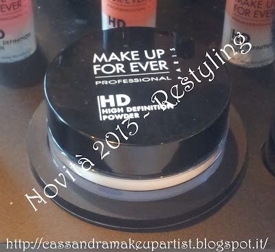 Nuova cipria HD Make Up For Ever - new packaging hd powder mufe