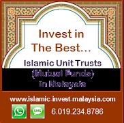Islamic unit trusts investment