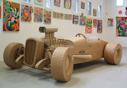 05-Sports-Car-Life-Size-Chris-Gilmour-Cardboard-Sculptures-www-designstack-co