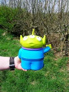 Toy Story Alien cache container