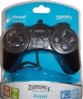 Flipkart : Zebronics ZEB-50JP Turbo/Clear function Gamepad at (Flipkart First Member Rs.114) or Rs. 154 -buytoearn