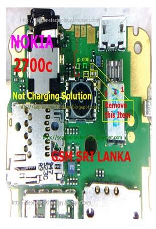 Nokia 2700c & 5130c Charging Ways