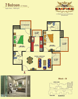 Amrapali Empire :: Floor Plan