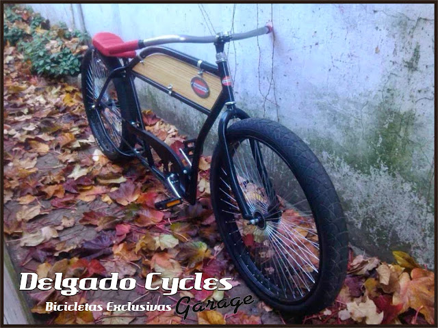 Bicicleta Kustom Cafe R.