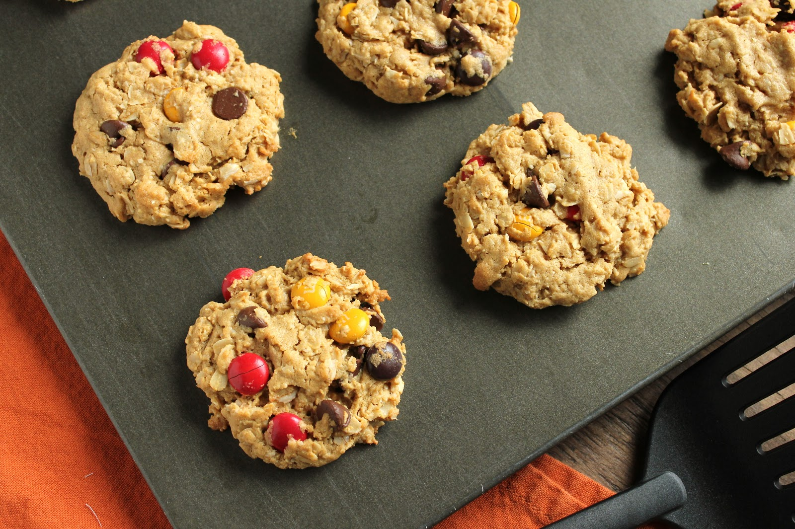 Monster Halloween Cookies: Delicious As It Looks: All Oats Monster Cookies