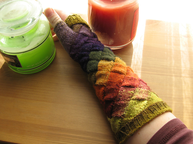 enterlac knitting pattern gloves
