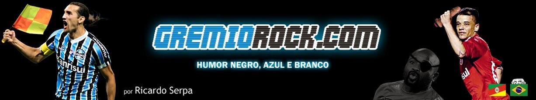 GRÊMIO ROCK | Humor negro, azul e branco