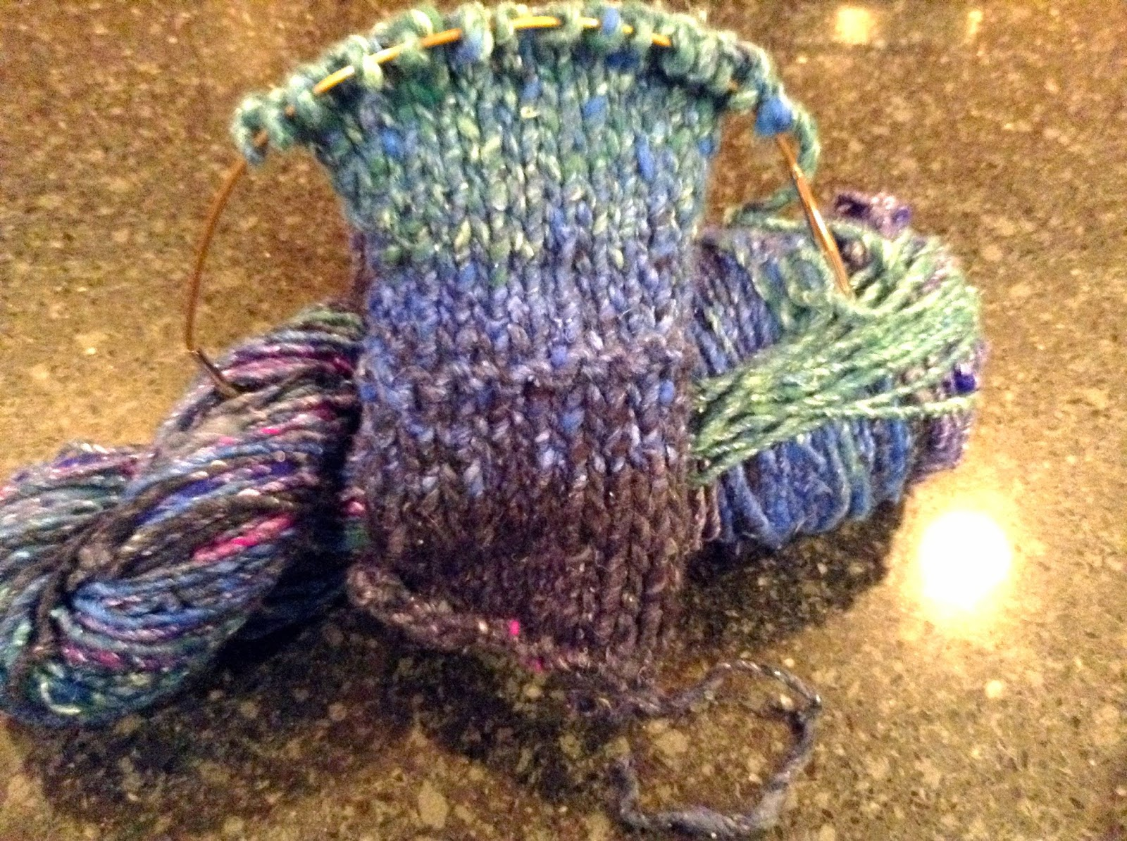 Stitch and Chat: The Joy of Knitting With Bulky Yarn.
