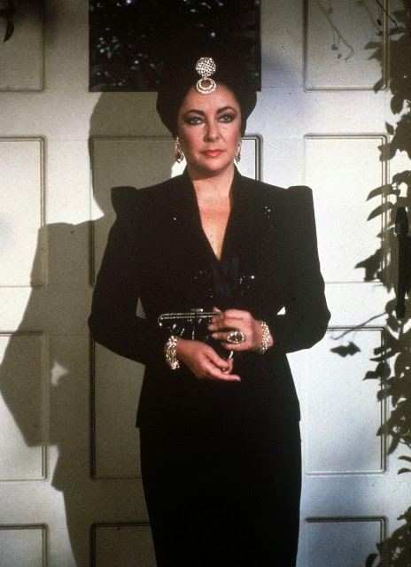 "Elizabeth Taylor on ""General Hospital"" - Marvin Paige made it happen."
