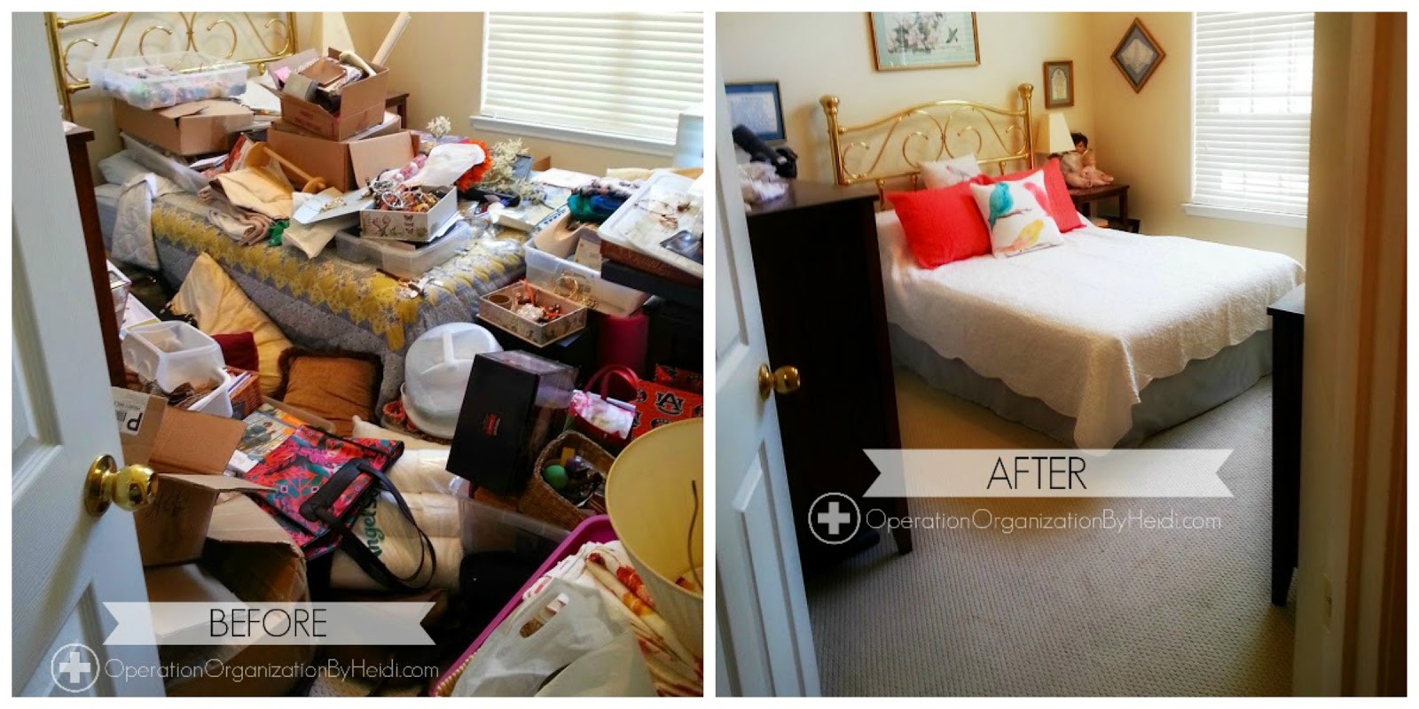 This Client Called On Operation Organization By Heidi For Support In Their Guest Bedroom