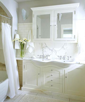 New Home Interior Design Cottage Bathroom Ideas