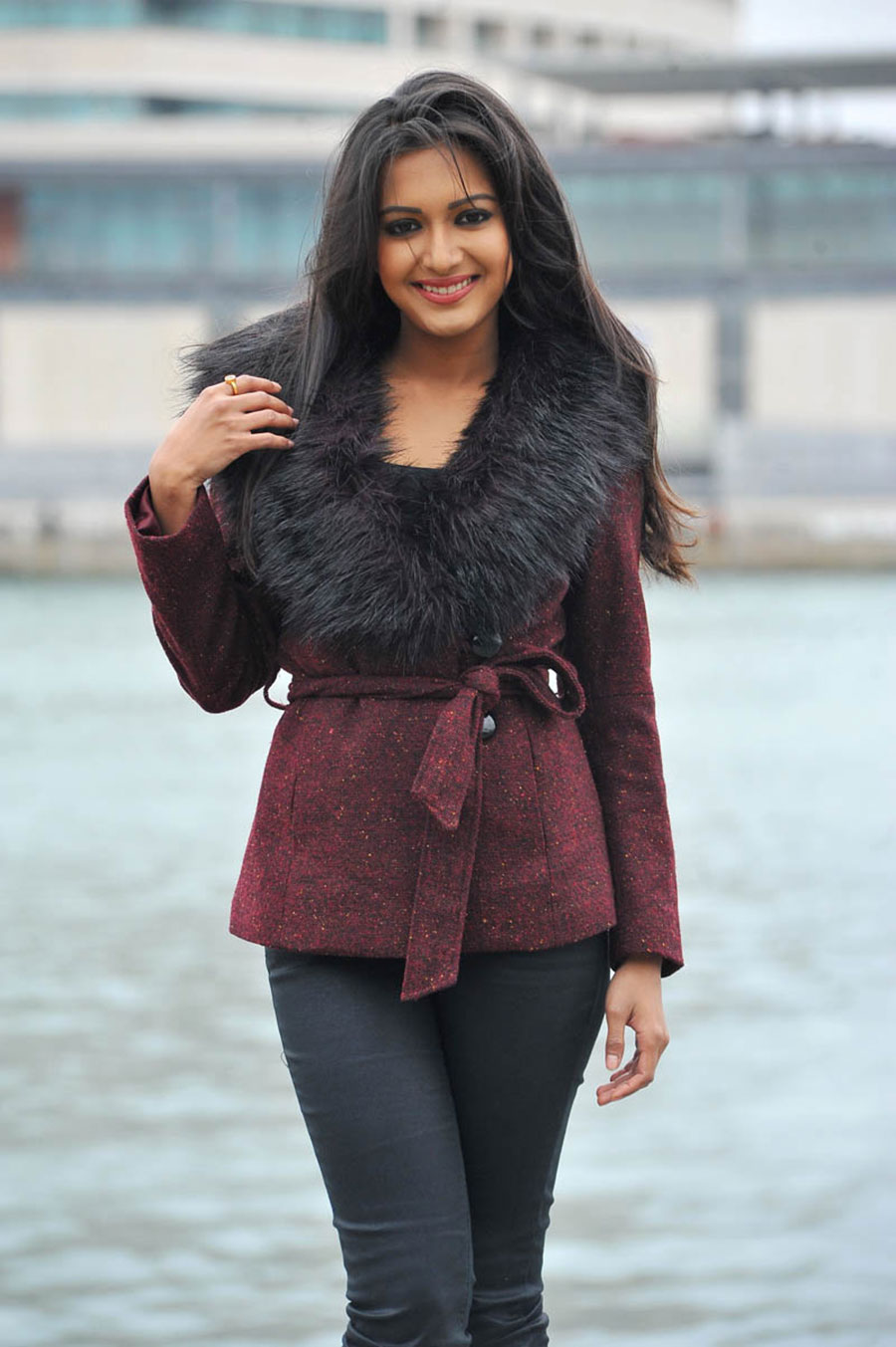catherine tresa in shankar ips