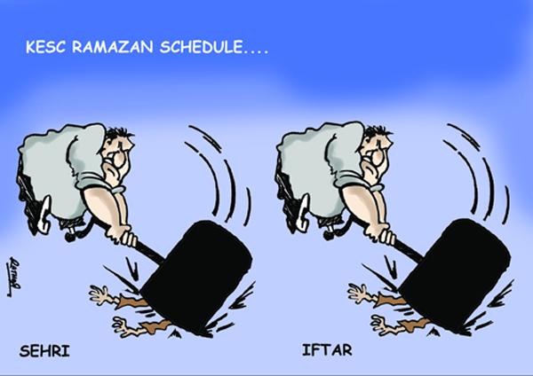 The News Cartoon-3 18-8-2011