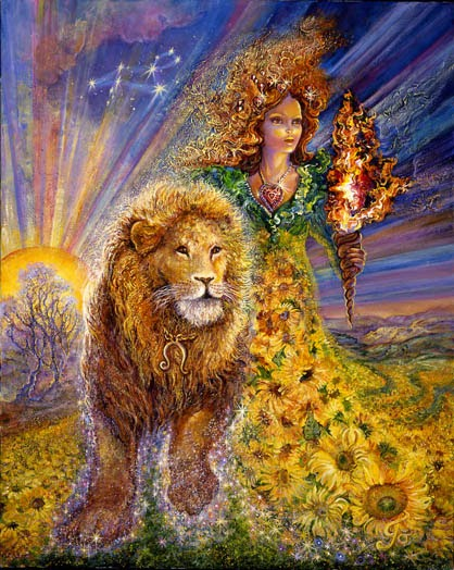 Full Moon In Leo ~ February, 3