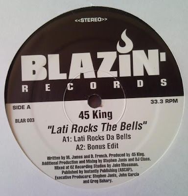 45 King ‎– Lati Rocks The Bells / Put The Funk Out (2001, 192, VLS)