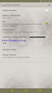 Cara Mudah Menjadikan Hp Android Kamu Sebagai Modem