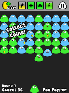 pou apk pou collecting coins
