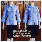 Blouse Batik DBT 4073 Harga Reseller : Rp 65.000,-