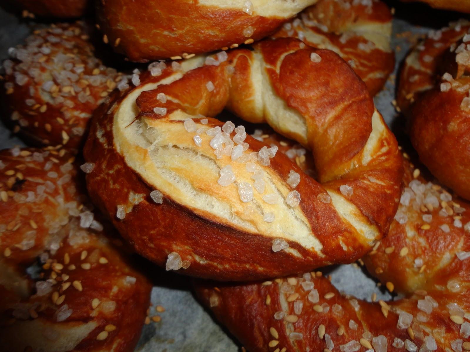 Cucinare con sweetpenny in allegria i brezel o pretzel for Cucinare weisswurst