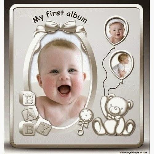 Premier album photo bébé garçon