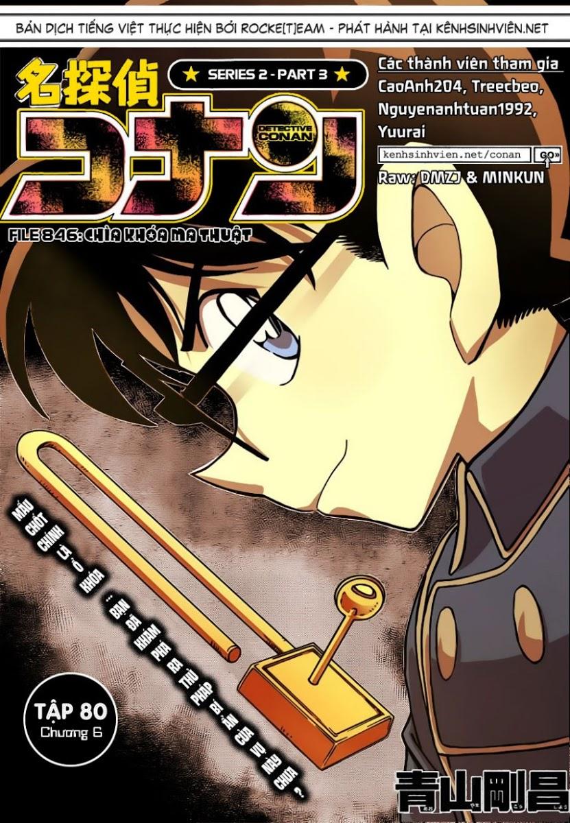 Detective Conan - Thám Tử Lừng Danh Conan chap 846 page 2 - IZTruyenTranh.com