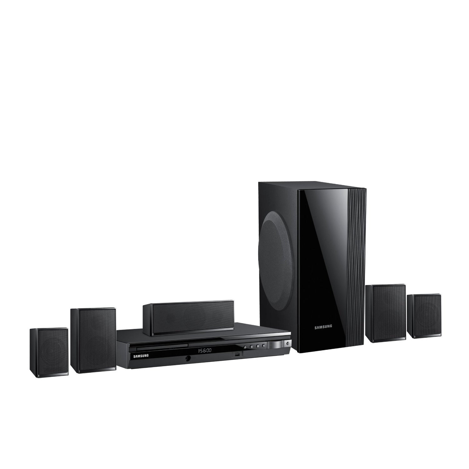 samsung ht e550 htib 5 1 channel 1000 watt home theater system samsung home theatre. Black Bedroom Furniture Sets. Home Design Ideas