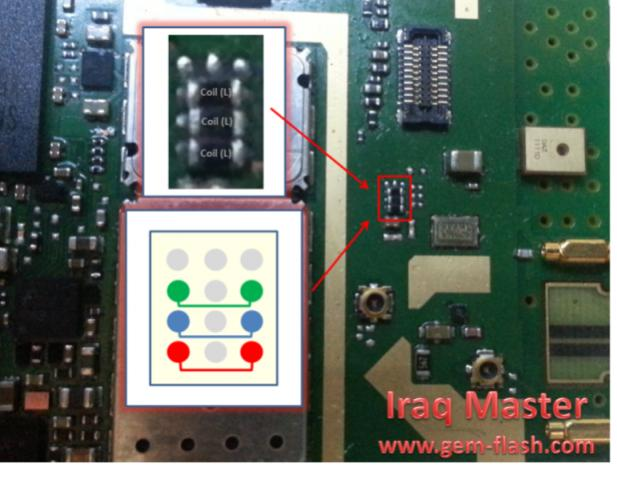 Nokia N8-00 Touch Screen IC Ways problem repair solution