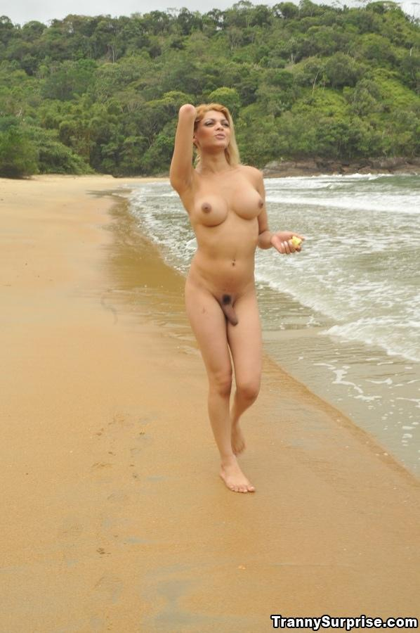 shemale on nude beach