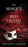 UK book cover for The Masque of the Red Death by Bethany Griffin