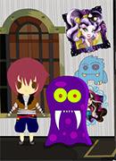 Монстр Хай Ищем вещи - Онлайн игра для девочек