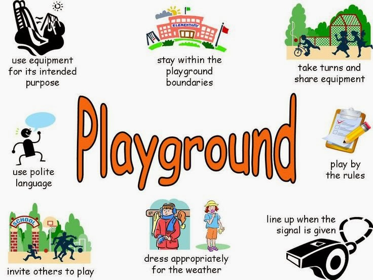 playground rules for preschoolers early childhood environments visuals and behavior 131