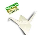 Panduan Membuat Origami Burung Bangau