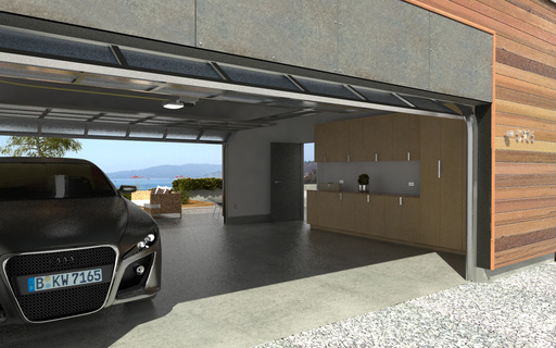 Modular home builder blu homes adds garages to their for Design moderno garage indipendente