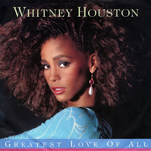 Whitney Houston - The Greatest Love Of All (1986) - cover