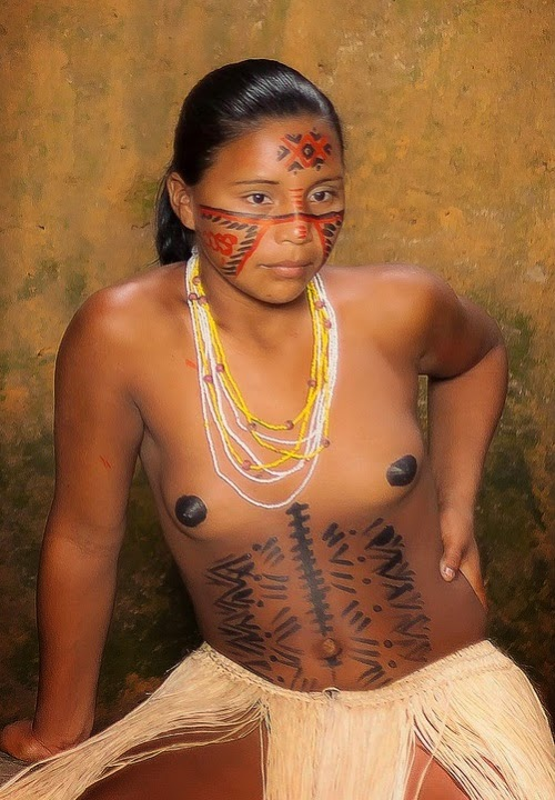 Girls tribal nude young american south