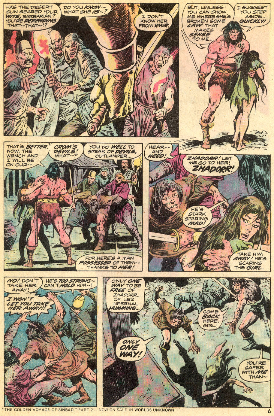 Conan the Barbarian (1970) Issue #41 #53 - English 5
